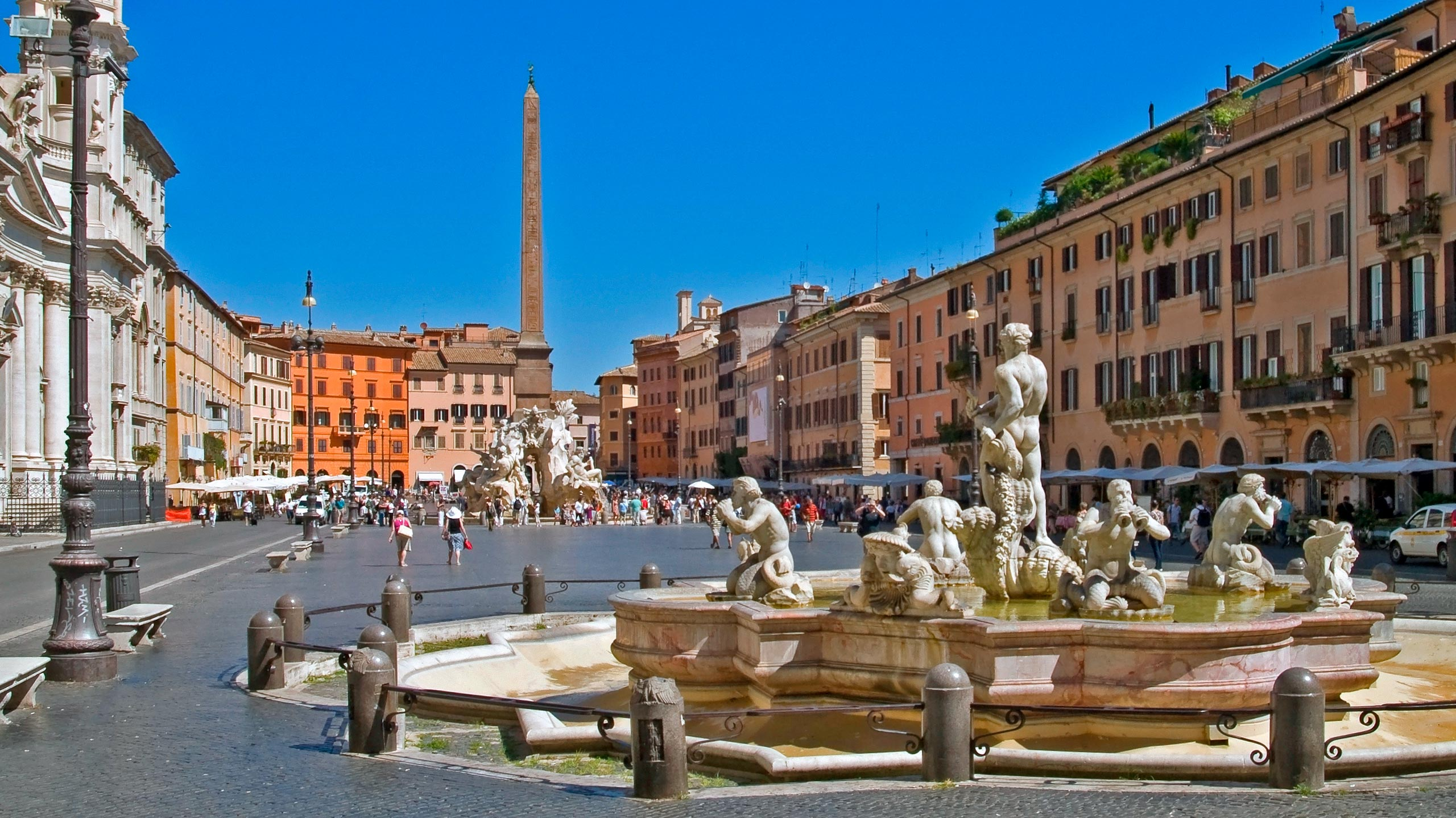 Milan To Rome >> The legends of the most beloved square by the Romans: Piazza Navona, masterpiece of art and culture