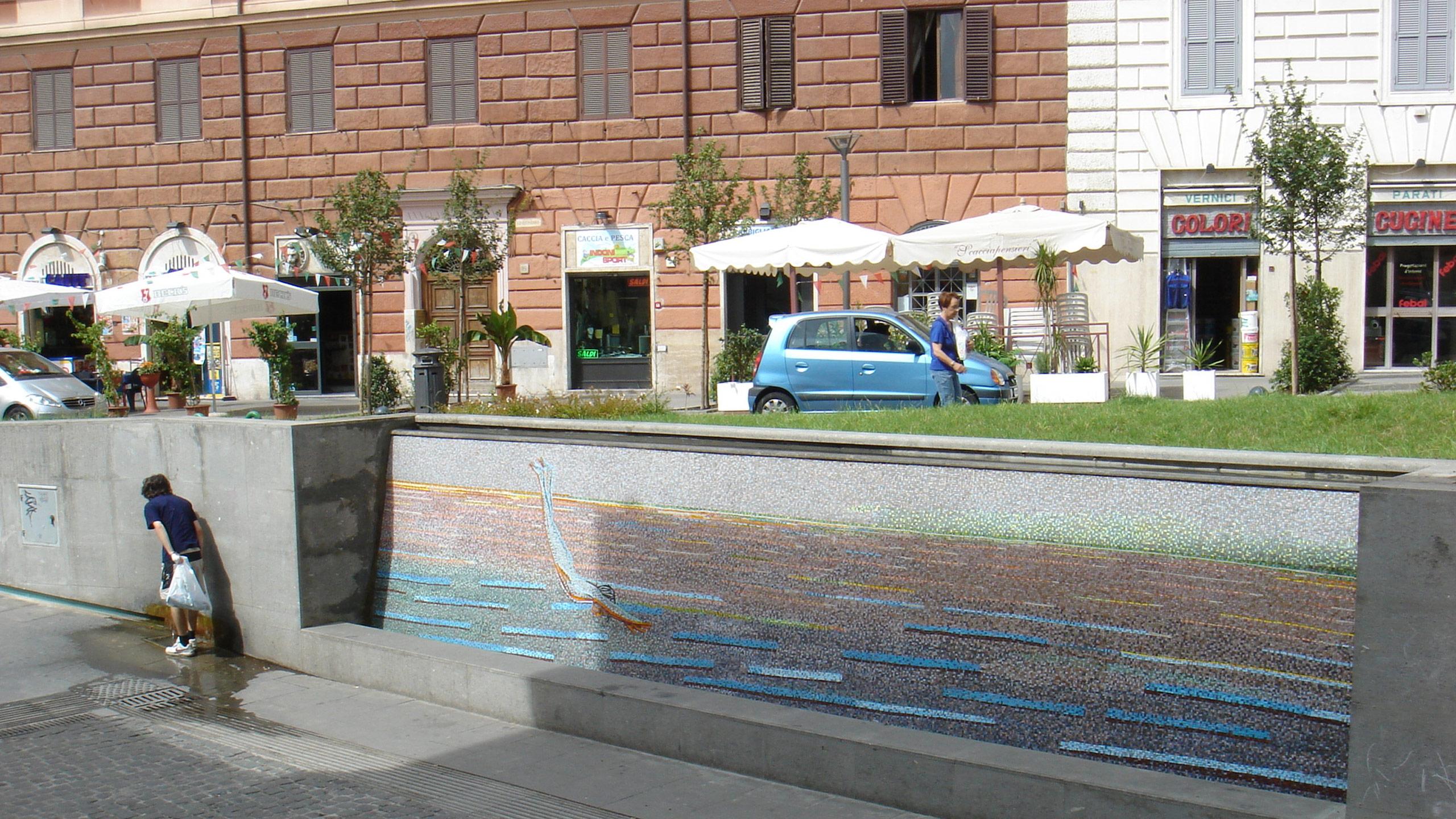 Visitare Roma: Piazza San Cosimato in Trastevere, uno dei luoghi più ...