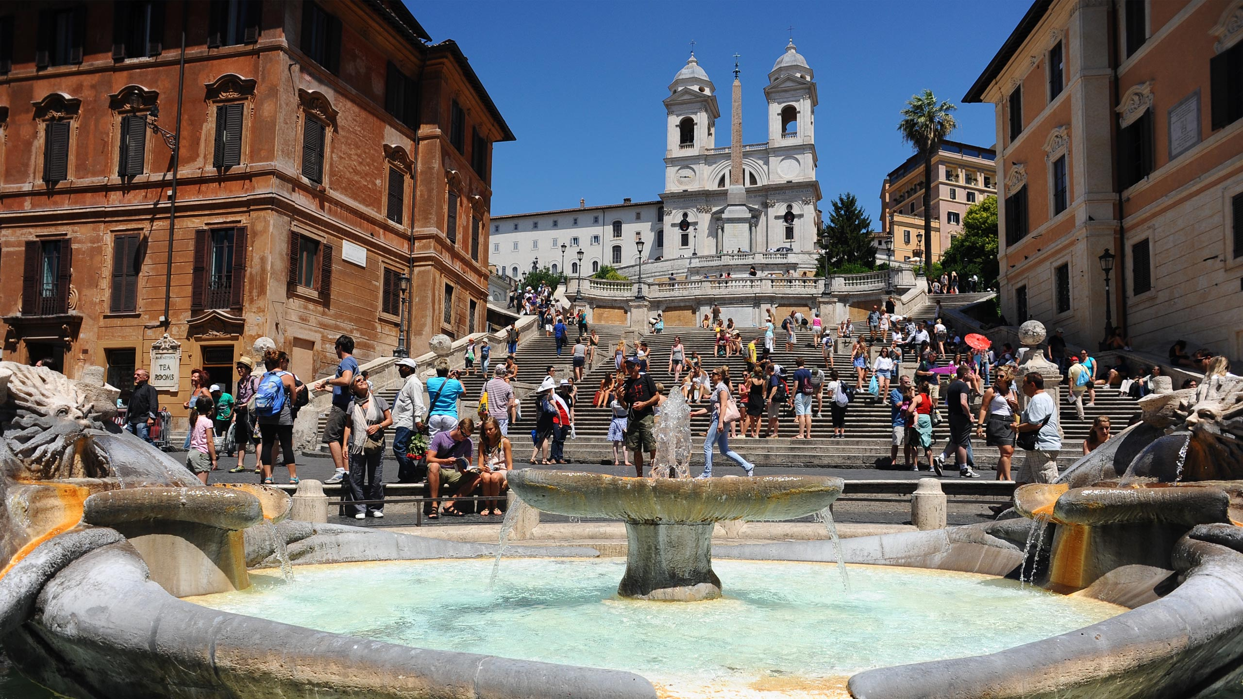 Spagna Square Is One Of The Most Famous Squares In The